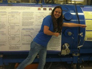 Pretending to be a particle in an accelerator at IBM T.J. Watson Research Center