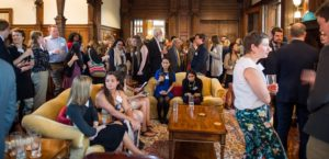 CFSA Recognition Reception for scholarship applicants and mentors at the  Chancellor's House