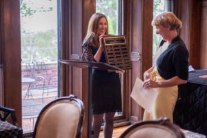 CFSA mentor of the year Erika Haber