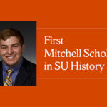 Picture of Cameron Macpherson - SU's first Mitchell Scholar