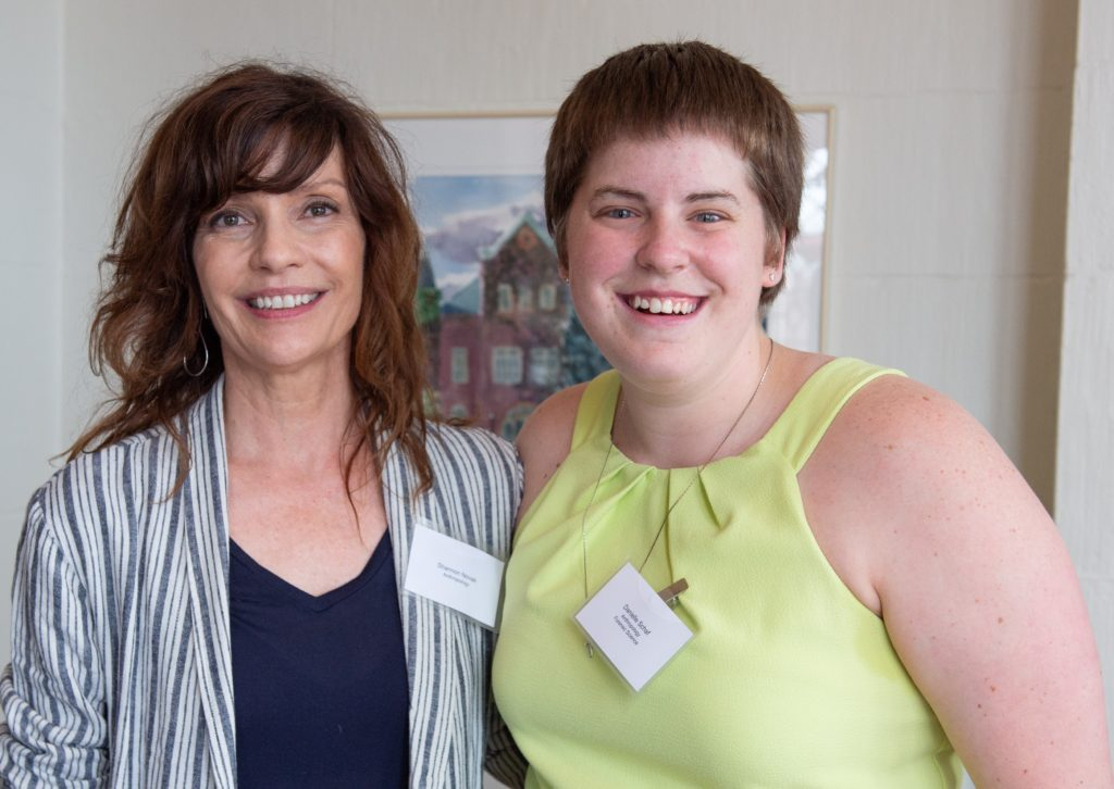 Picture of Danielle Schaf and her mentor Prof. Shannon Novak